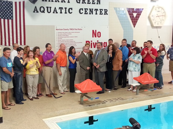 YMCA Harry Green Aquatic Center Dedication